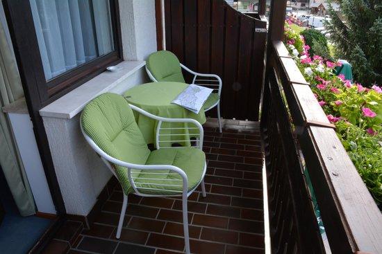 Penzion Livada: Balkon