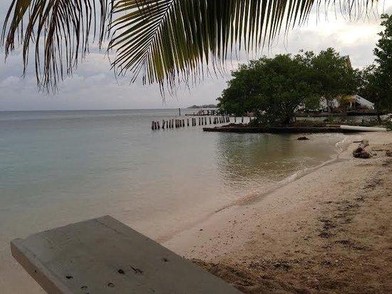 Pirate's Bay Inn Dive Resort: Private beach area