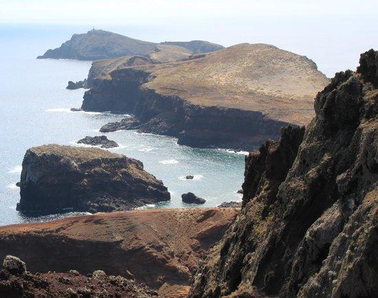 Ponta de São Lourenço : The far end of the peninsula (you cannot walk to the end).