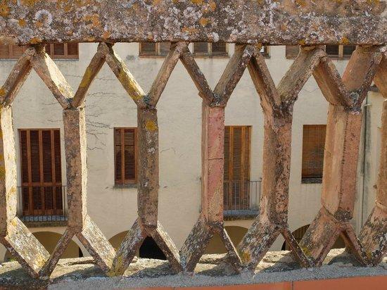 Casa Convent Peralada : vue de la terrasse