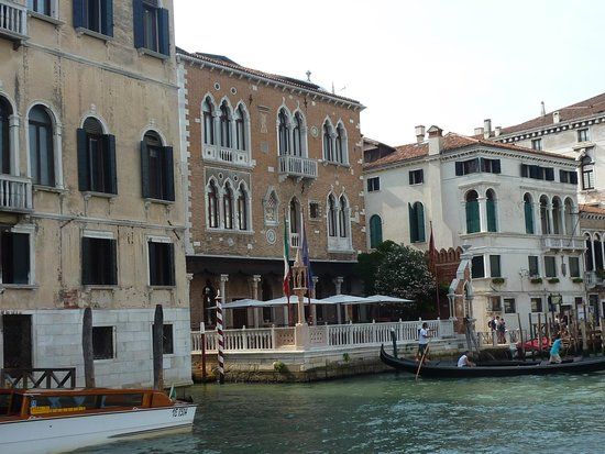 Hotel Palazzo Stern : Hotel depuis le Grand Canal