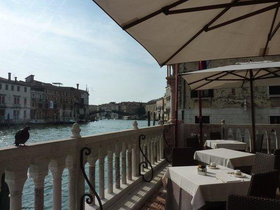 Hotel Palazzo Stern: Terrasse petit déjeuner