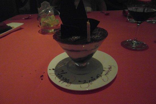 Sinatra : Birthday Tiramisu