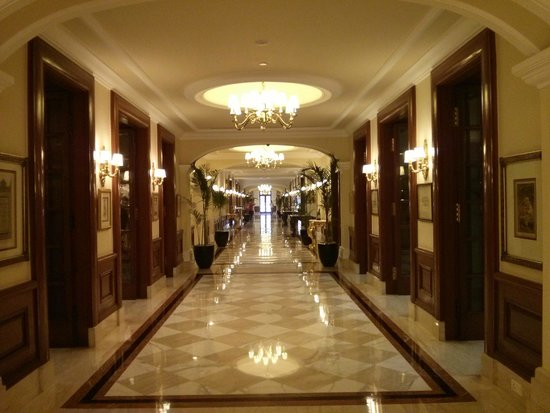 The Imperial Hotel: Corridor leading to rooms