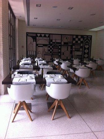 H10 Art Gallery : Salle petit déjeuner