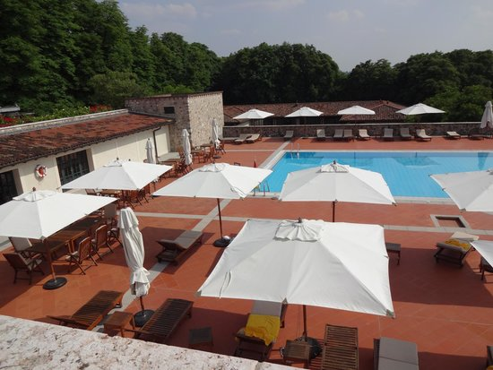 Palazzo Arzaga Hotel Spa & Golf Resort: Auch Baden geht