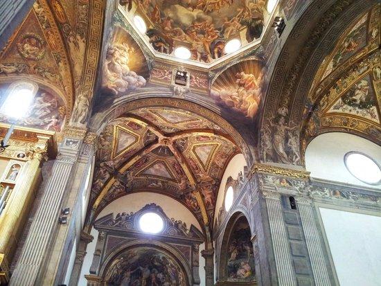 Cattedrale di Parma: La volta del cupolone