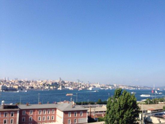 Orka Royal Hotel: Uitzicht vanaf het dak!!