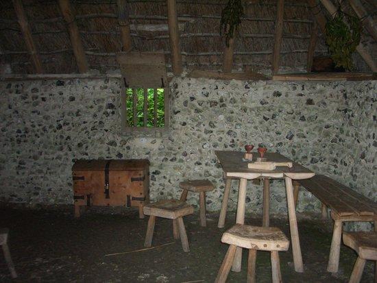 Weald & Downland Living Museum: inside one house