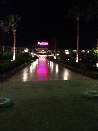 Baron Resort Sharm El Sheikh: night view