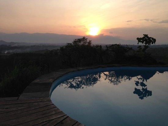 Kyaninga Lodge : panorama