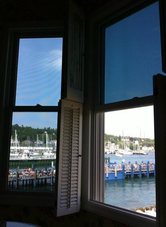 Hotel Iroquois : View of the harbor from 2 of our windows