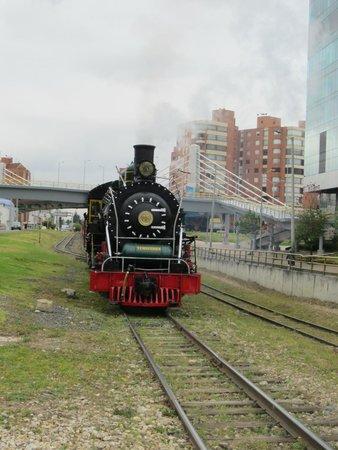 Tren Turistico de la Sabana: The steam engine