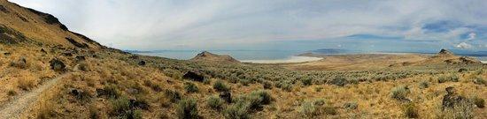 Antelope Island State Park : Frary Peak hike