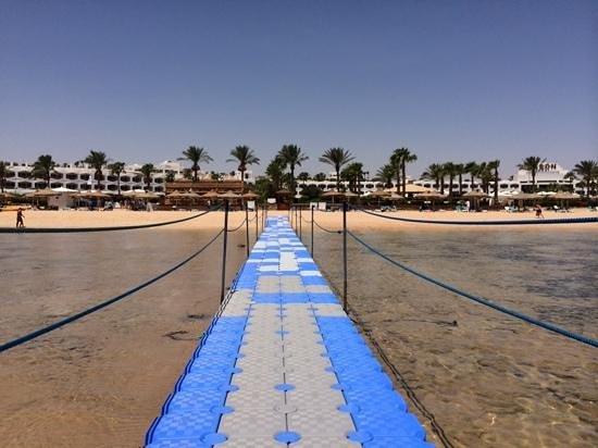 Baron Resort Sharm El Sheikh: view from the sea
