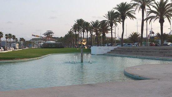 Estival Park Salou : La Pineda fountain
