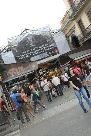 Mercado de Sant Josep de la Boqueria: entrada