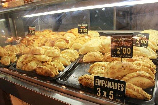 Mercado de Sant Josep de la Boqueria: empanadas