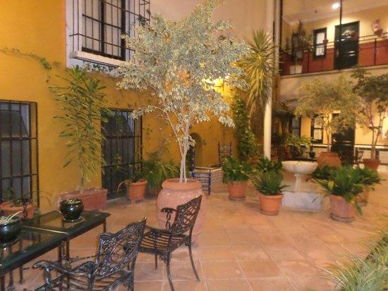 Hotel Cervantes: Terraço