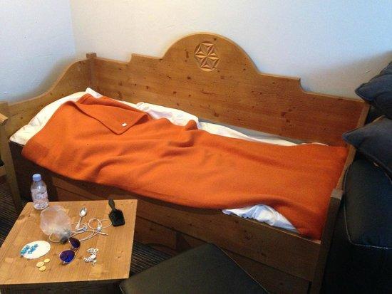 Park Hotel Suisse & Spa: Het bed waarin mijn kind sliep; heel schattig.