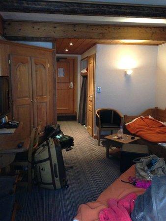 Park Hotel Suisse & Spa: Dit is een grote kamer