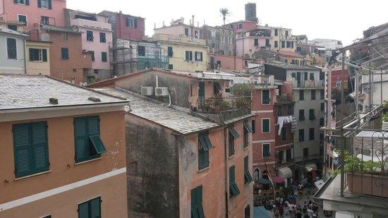 Rosa Camere : Vista dal terrazzo