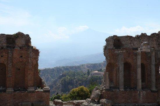 Ancient Theatre of Taormina : Veduta