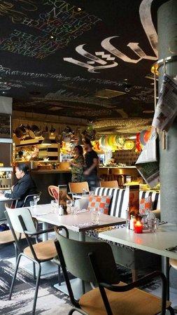 Mama Shelter Lyon : Bar- restaurant