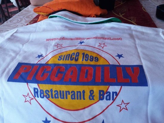 PICCADILLY RESTAURANT STEAK HOUSE: uniform ha