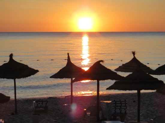 Hotel Riviera: sunrise