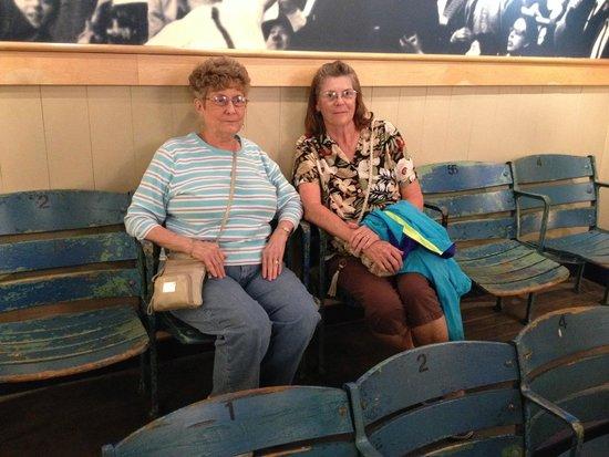 Roger Maris Museum: Enjoying the moment!