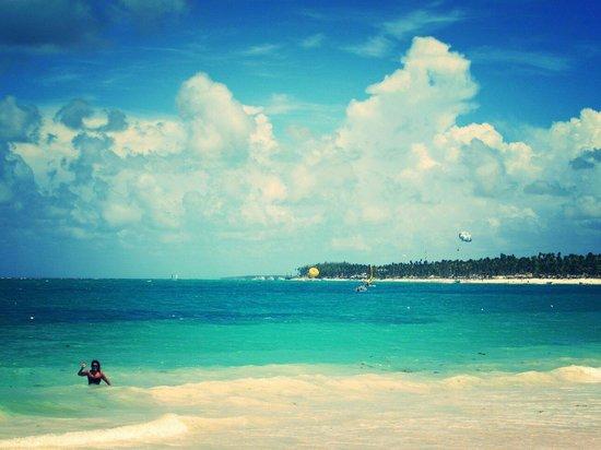 Punta Cana Princess All Suites Resort & Spa : Wonderful beach