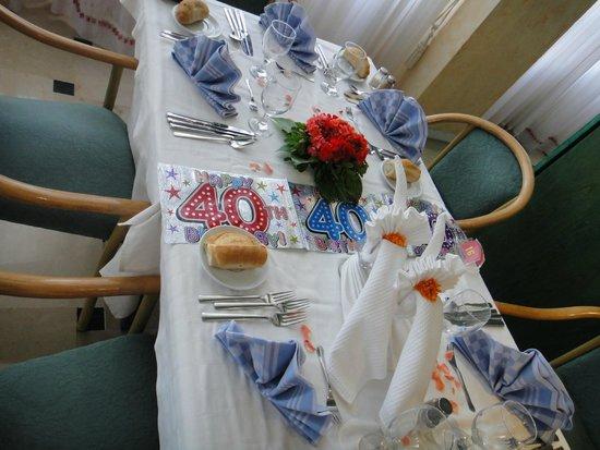 Hotel Riviera: Wifeys Birthday xx