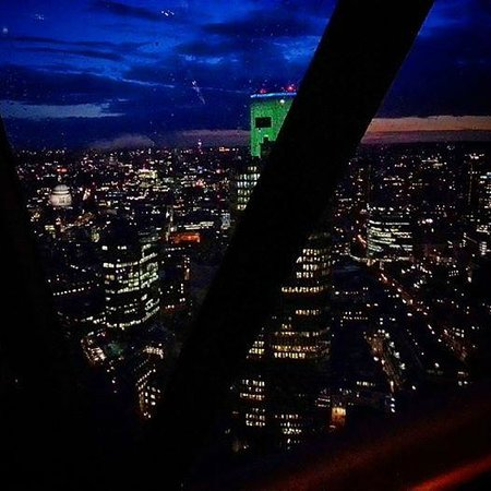 Searcys | The Gherkin : View from our table