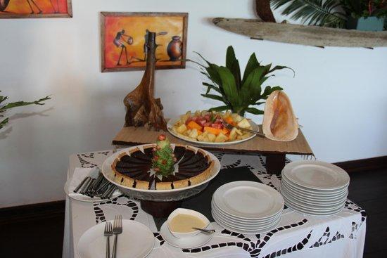 Constance Tsarabanjina: Un angolo del buffet