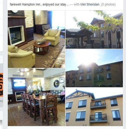 Hampton Inn & Suites Show Low-Pinetop: HOTEL COLLAGE....VERY NICE
