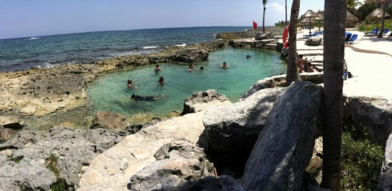 Dreams Puerto Aventuras Resort & Spa: Natural pool