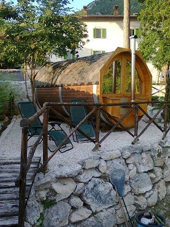 FonteAntica: botte per sauna