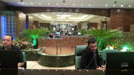 Abjar Grand Hotel: Reception