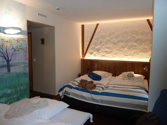 Hotel Adler : Schlafzimmer