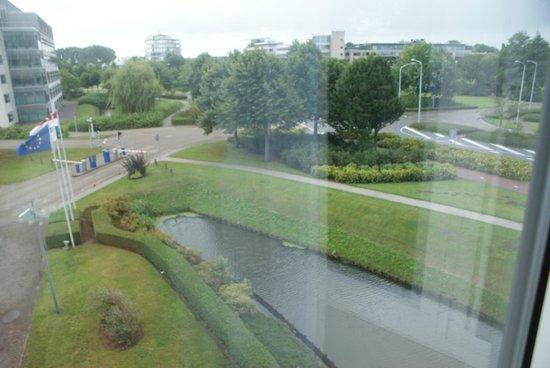 Radisson Blu Hotel Amsterdam Airport: Widok z okna