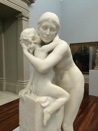 Tate Britain : Hamo Thornycroft (1850-1925) - The Kiss (1916)