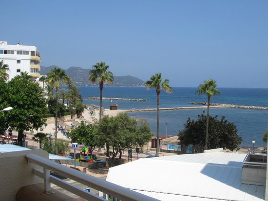 Som Llevant Suites Hotel: view from our room