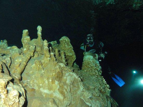 Taj Mahal Cenote: Interior