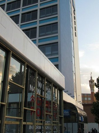 Hotel ibis budget London Whitechapel : emplacement hotel