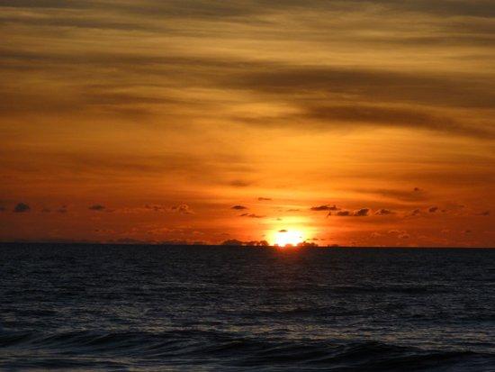 Emerald Beach: sunset view from Beach