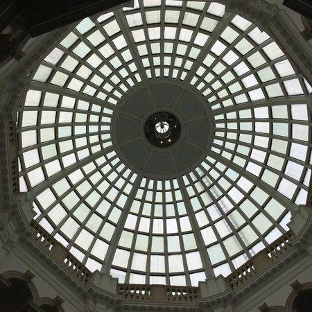 Tate Britain : Glass roof