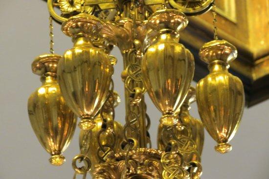 Casa Urquiaga (Casa Calonge): Uno de los candelabros
