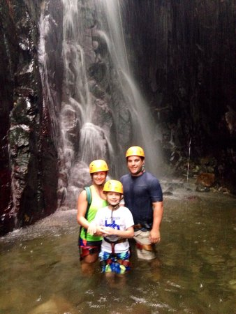Rocaliza Adventure Tours: After the rappel