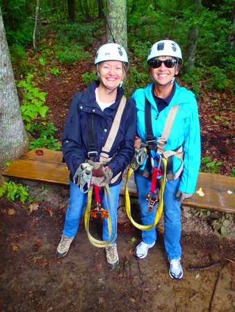 Sky Valley Zip Tours: Here we are